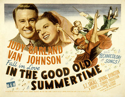 In The Good Old Summertime, Van Poster by Everett