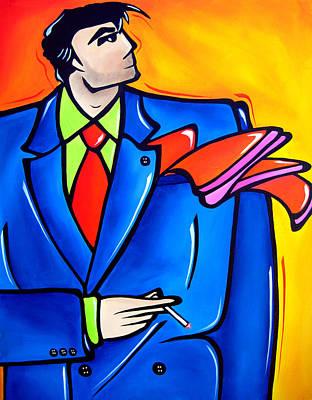 Incognito Original Pop Art Poster by Tom Fedro - Fidostudio