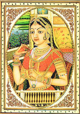 Indian Queen Poster by Sumit Mehndiratta