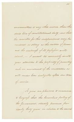 Indian Removal Act. Signed Into Law Poster