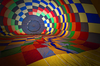 Inflating Poster by Rick Berk
