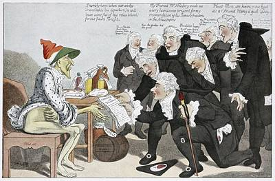 Influenza Epidemic, Satirical Artwork Poster