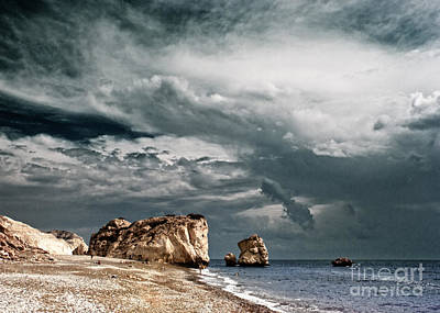 Infrared Aphrodite Rock Poster by Stelios Kleanthous