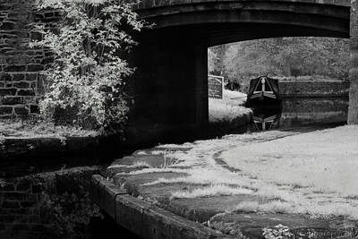 Poster featuring the photograph Infrared At Llangollen Canal by Beverly Cash
