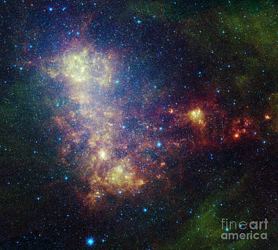 Infrared Portrait Revealing The Stars Poster by Stocktrek Images