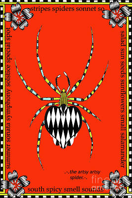 Insects Juvenile Licensing Art Poster by Anahi DeCanio