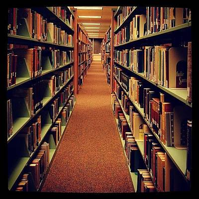 #instagrammers #hallway #books #library Poster