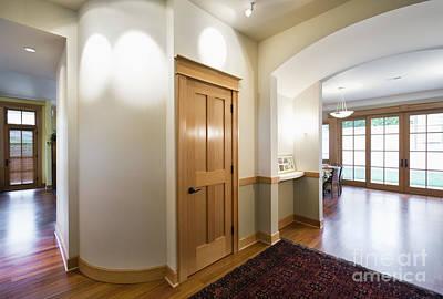 Interior Door In Large Home Poster