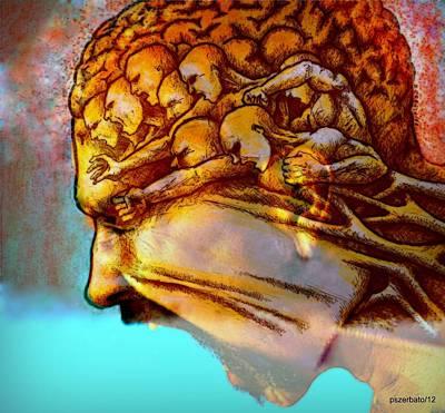 Internal Restlessness Eternal Poster by Paulo Zerbato