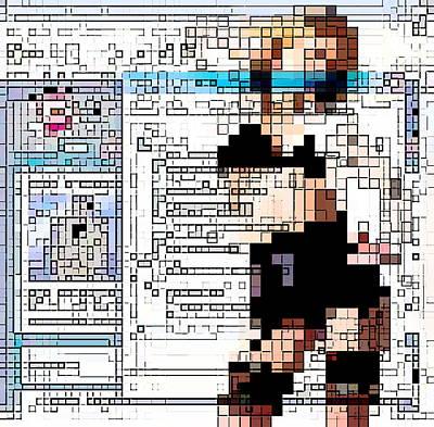 Internet Pornography, Conceptual Artwork Poster by Christian Darkin