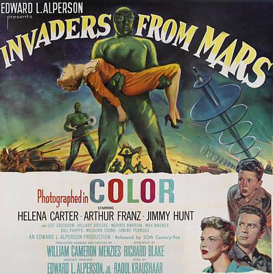 Invaders From Mars, Bottom Left Poster by Everett