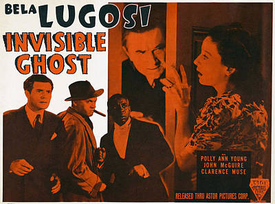 Invisible Ghost, Trio On Bottom Left Poster