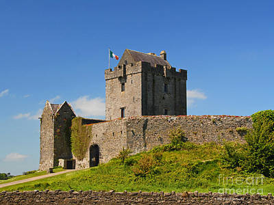 Irish Travel Landscape Dunguaire Castle Ireland Poster