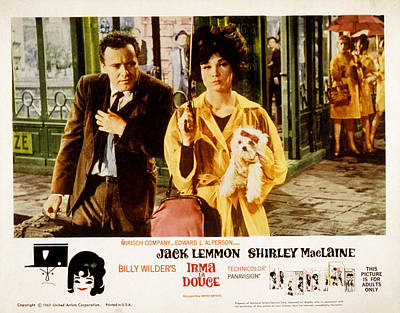 Irma La Douce, Jack Lemmon, Shirley Poster by Everett