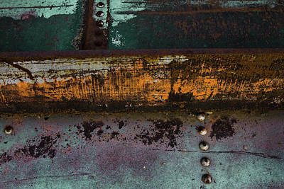 Iron And Rust Poster