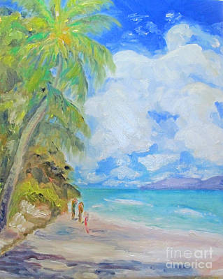 Island Beach Poster
