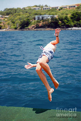 Poster featuring the photograph Island Hopping Boy by Vicki Ferrari