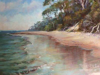 Island Sands Poster by Pamela Pretty
