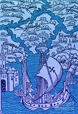 Islands Discovered By Columbus Poster