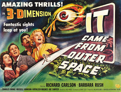 It Came From Outer Space, From Left Poster by Everett