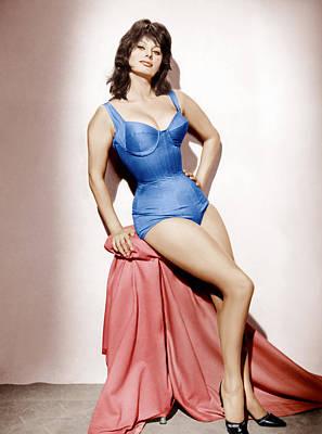 It Started In Naples, Sophia Loren, 1960 Poster