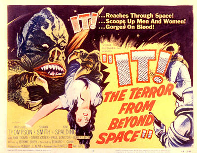 It The Terror From Beyond Space, 1958 Poster