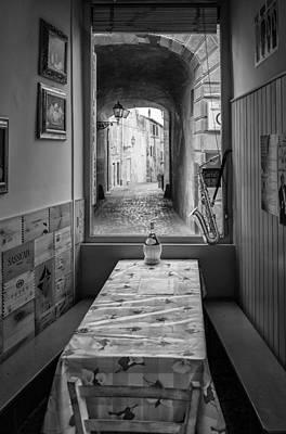 Italian Cafe Poster