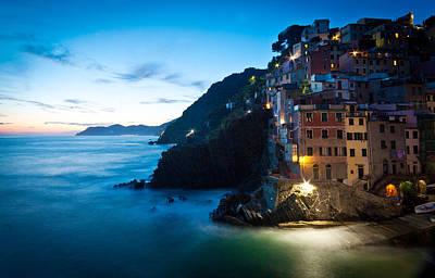 Italian Coast Romance Poster