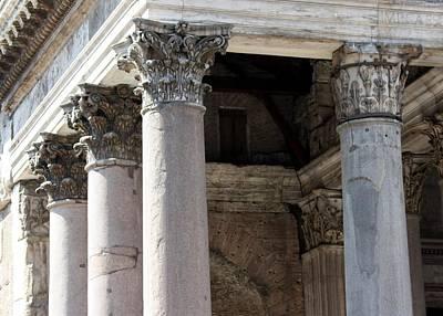 Italian Pantheon Poster