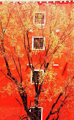 Italian Villa Poster by James Mancini Heath