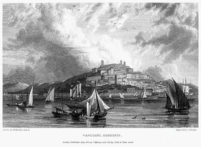 Italy: Sardinia, 1832 Poster