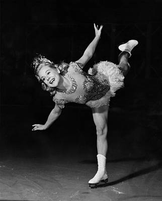 Its A Pleasure, Sonja Henie, 1945 Poster by Everett