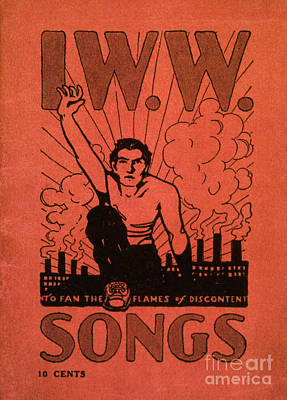 Iww Songbook Cover Poster