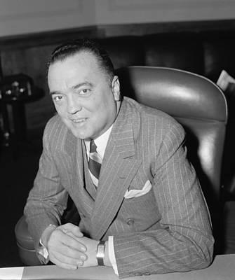 J. Edgar Hoover, Director Of Fbi Poster