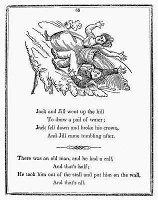 Jack And Jill, 1833 Poster by Granger