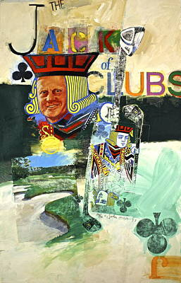 Jack Of Clubs 50-52 Poster by Cliff Spohn