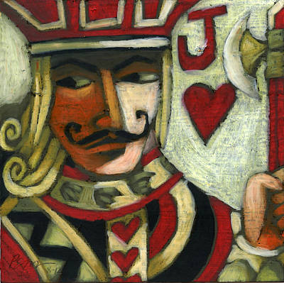 Jack Of Hearts Poster by Erik Pearson