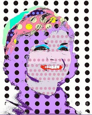 Jackie O Poster by Ricky Sencion