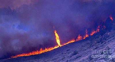 Jackson Canyon Fire, 2006 Poster