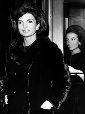 Jacqueline Kennedy And Her Sister Lee Poster by Everett