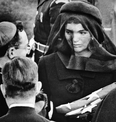 Jacqueline Kennedy At President John Poster by Everett
