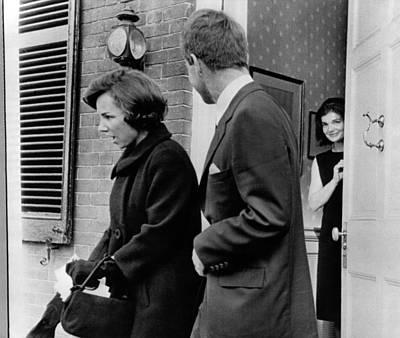 Jacqueline Kennedy, In Doorway Poster by Everett