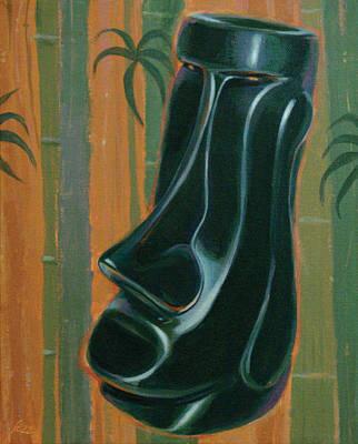 Jade Moai Poster