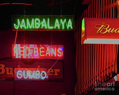 Jambalaya Poster by Lizi Beard-Ward