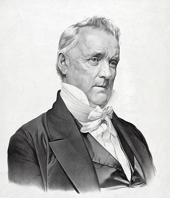 James Buchanan - President Of The United States Poster by International  Images