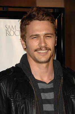 James Franco At Arrivals For L.a Poster by Everett