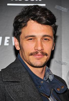 James Franco At Arrivals For Somewhere Poster by Everett
