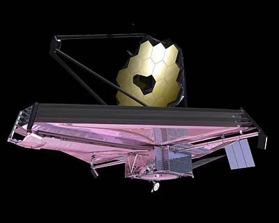James Webb Space Telescope, Artwork Poster by Nasa