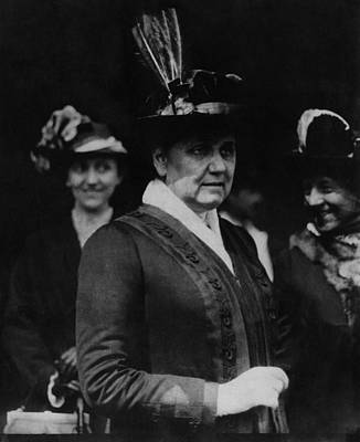 Jane Addams 1860-1935, Founder Of Hull Poster by Everett