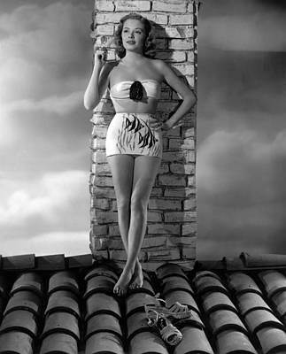 Jane Greer, 1940s Poster by Everett